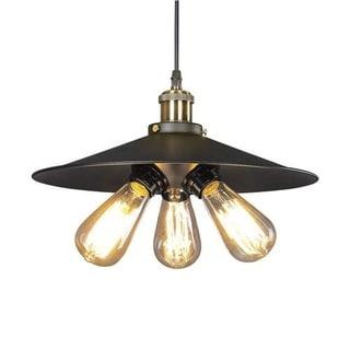 LNC Industrial Pendant Lights 3-light Ceiling Lights