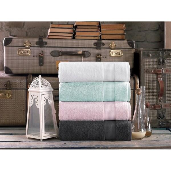 Milano Super Soft 2 Piece Turkish Bath Towel Set