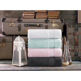 Milano Super Soft 2 Piece Turkish Bath Towel Set