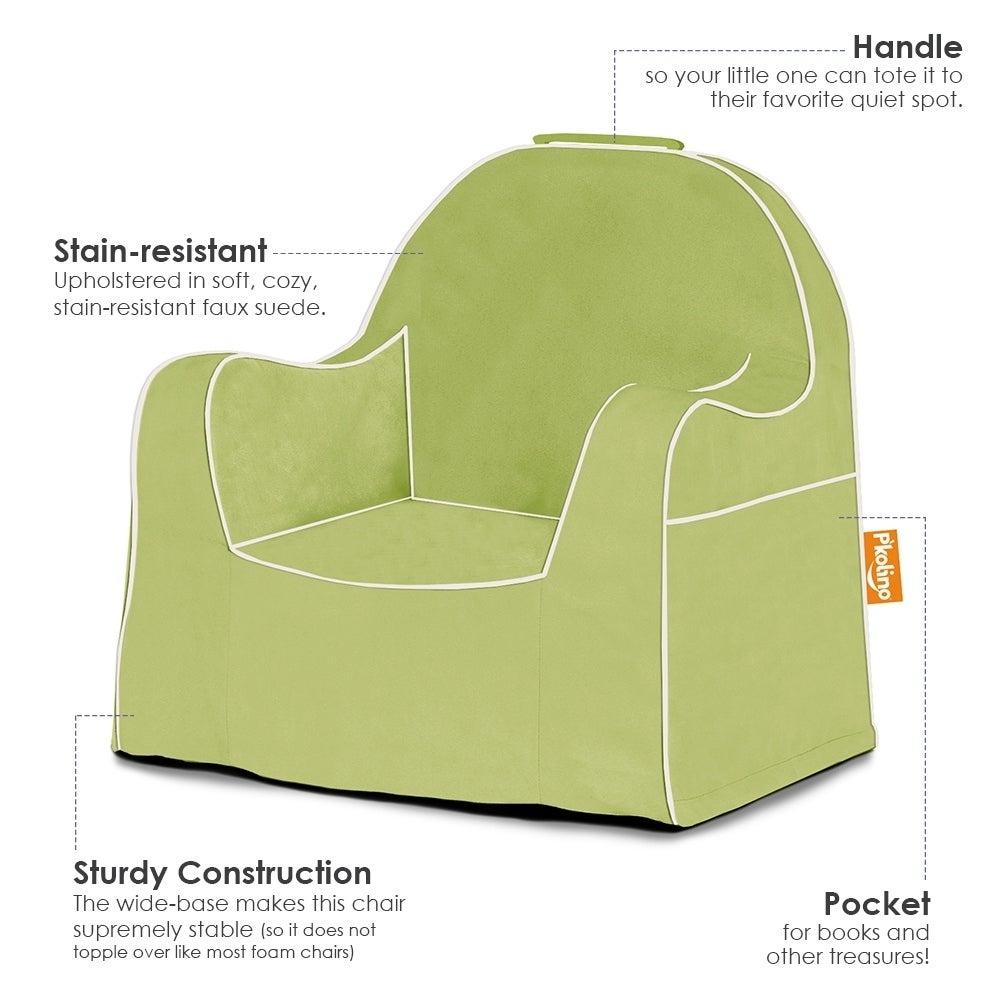P'kolino Solid Slip Cover Little Reader (Green) (Foam)