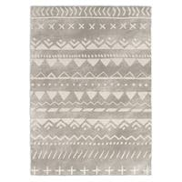 Kavka Designs Fox Grey/ White Area Rug ( 3'X5' ) - 3' x 5'