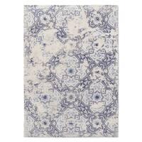 Kavka Designs Sandoval Blue/ Ivory Area Rug ( 3'X5' ) - 3' x 5'