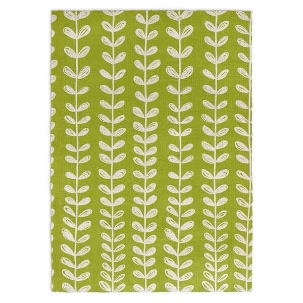 Graham And Green Zebra Rug: Shop Kavka Designs Zebra Green/ White Area Rug ( 3'X5