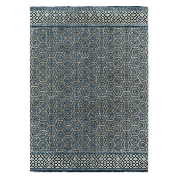 Kavka Designs Isabella Dark Blue Area Rug ( 3u0026#x27 ...