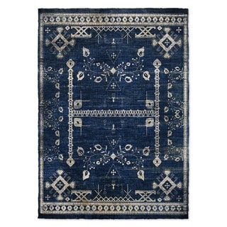 Kavka Designs Annora Blue Area Rug ( 3'X5' ) - 3' x 5'