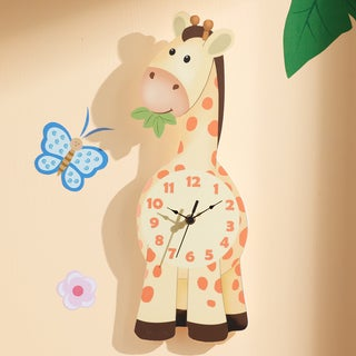 Fantasy Fields - Sunny Safari Giraffe Wall Clock