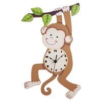 Fantasy Fields - Sunny Safari Monkey Wall Clock
