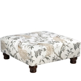 Skyline Furniture Ottoman In Roberta Winter
