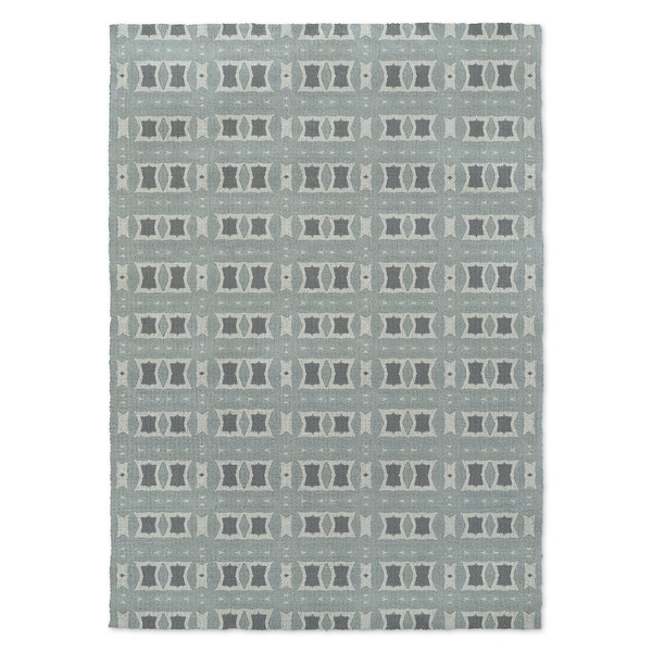 Kavka Designs Crossroads Blue Accent Rug (2' X 3') - 2' x 3'