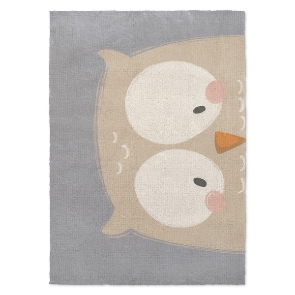 area rugs with orange accents grey rust area kavka designs owl blue grey orange accent rug 2x27 shop 2 3