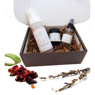 Handmade Deluxe Feminine Care Gift Set by Karess Krafters Apothecary (USA)
