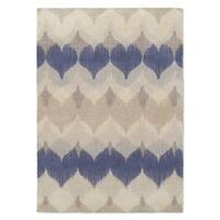 Kavka Designs Aria Blue/ Ivory/ Tan Accent Rug (2' X 3') - 2' x 3'