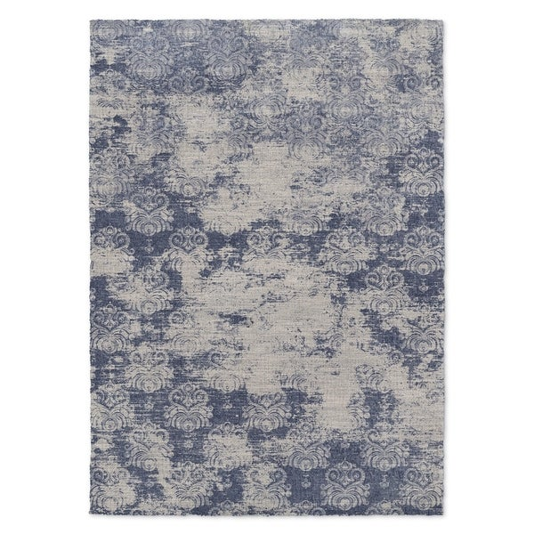 Kavka Designs Milano Blue Accent Rug (2' X 3') - 2' x 3'