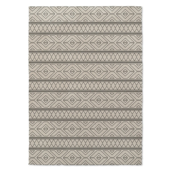 Kavka Designs Marrakesh Black/ Grey Accent Rug (2' X 3') - 2' x 3'