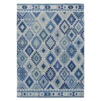 Kavka Designs Temara Blue Accent Rug (2' X 3') - 2' x 3'
