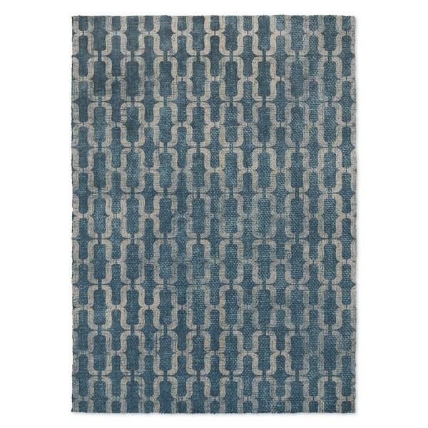 Kavka Designs Eboracum Blue Accent Rug (2' X 3') - 2' x 3'
