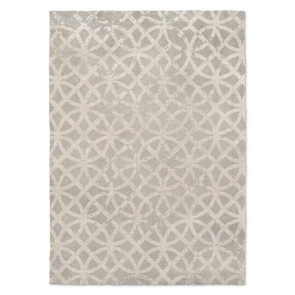 Kavka Designs Ellsha Gray Grey Accent Rug (2' X 3') - 2' x 3'