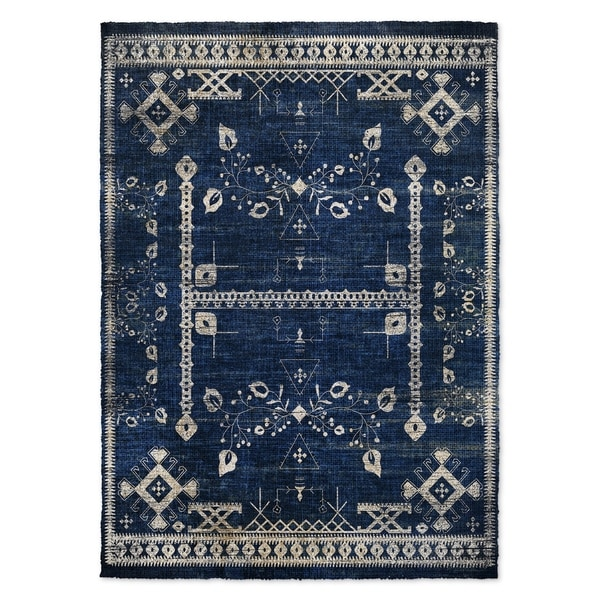 Kavka Designs Annora Blue Accent Rug (2' X 3') - 2' x 3'