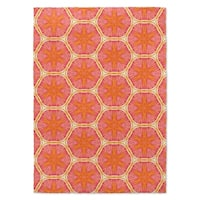 Kavka Designs Tansy Pink/ Orange Accent Rug - 2' x 3'
