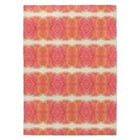 Kavka Designs Sidra Pink/ Orange Accent Rug (2' X 3') - 2' x 3'