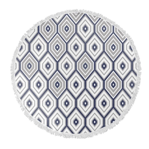 6cb6b0d49 Shop Kavka Designs Honey boo Grey/ Blue 60
