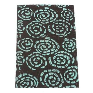 Handmade Whirlpool Soft Journal (India)