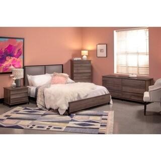 Braydon 5pc Queen Bedroom Set in Oak Finish