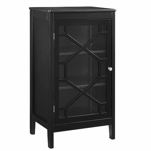 Ava Black Small Cabinet