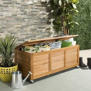 Safavieh Outdoor Living Bruna 3-Piece Wood Bistro Set