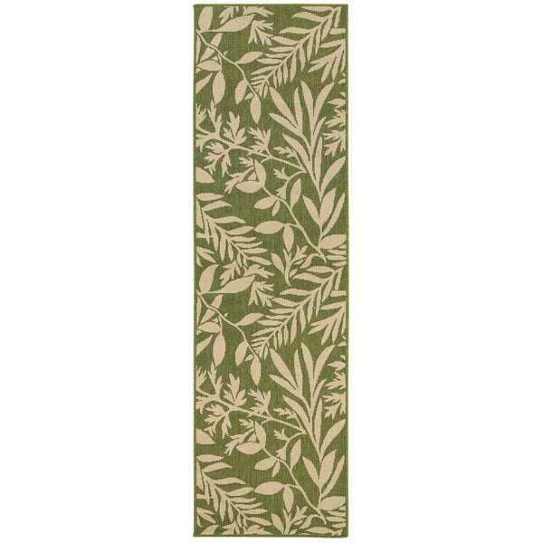 Botanical Impressions Indoor/Outdoor Area Rug - 2'3 x 7'6