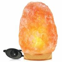 Himalayan Glow Natural Crystak Salt Lamp,Dimmable 11-15 lbs