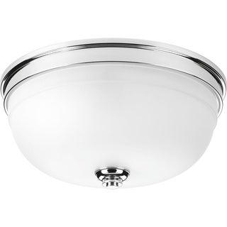 Topsail Collection 3-Light Polished Chrome Flushmount