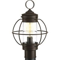 Haddon Collection Outdoor Antique Bronze Post Light