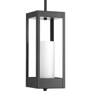 Patewood Collection Black 1-light Pendant