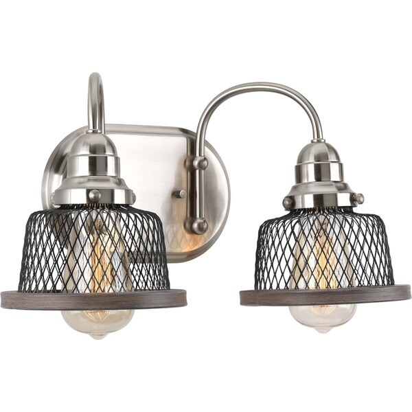 Shop Tilley Collection Light Brushed Nickel Bath Light Free - Brush nickel bathroom lights