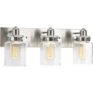 Calhoun Collection 3-Light Brushed Nickel Bath Light
