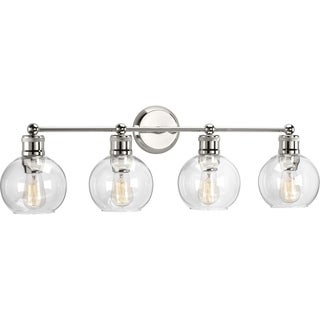 Hansford Collection 4-Light Polished Nickel Bath Light