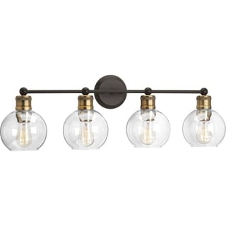 Carbon Loft Guillotin Antique Bronze 4-light Bath Light