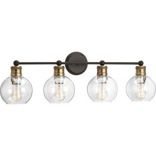 Hansford Collection Antique Bronze 4-light Bath Light