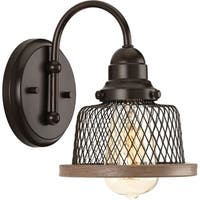 Tilley Collection 1-Light Antique Bronze Bath Light