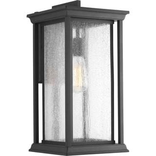 Endicott Collection One-light Black Wall Lantern