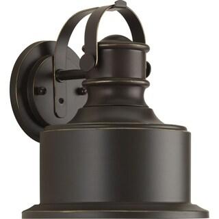 Callahan Collection 1-Light Antique Bronze Wall Lantern
