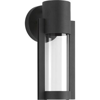 Z-1030 Collection Black 1-Light Wall Lantern
