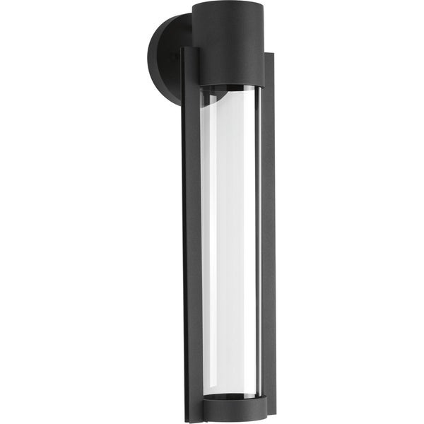Z-1030 Collection 1-Light Black Wall Lantern