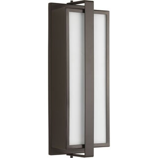 Diverge Collection 2-Light Architectural Bronze Wall Lantern