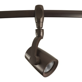 Link to LED Flex Track Collection 1-Light Antique Bronze Track Lighting Head Similar Items in Track Lighting