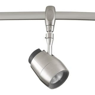 Link to LED Flex Track Collection 1-Light Brushed Nickel Track Lighting Head Similar Items in Track Lighting