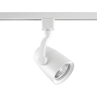 LED Track Collection 1-Light White Track Lighting Head