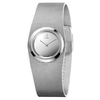 Calvin Klein Women's Impulsive Stainless Steel Silver Swiss Quartz (Battery-Powered) Watch