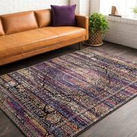 "Trocadero Purple Vintage Persian Area Rug - 9'2"" x 12'2"""
